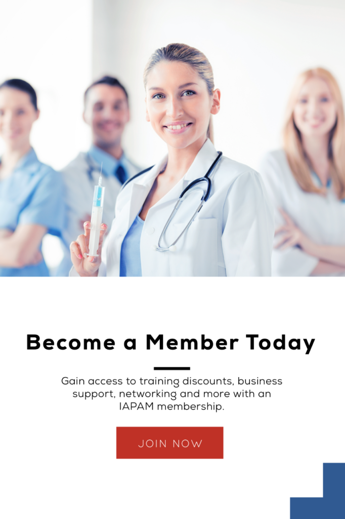 Group of doctors with membership perks